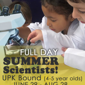Full Day Summer Scientists!